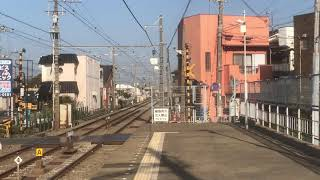 山陽5000系5702F直通特急阪神大阪梅田行き 中八木駅通過