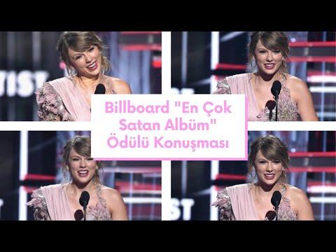"""Taylor Swift - Billboard 2018 """"En Çok Satan Albüm"""" Ödülü Konuşması. (Türkçe Altyazılı) Mp3"""
