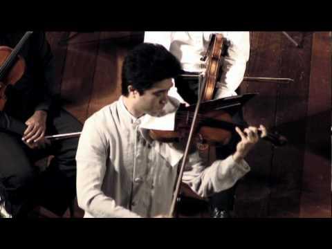 Yang Liu plays encore after Sibelius concerto--Gavotte by Bach