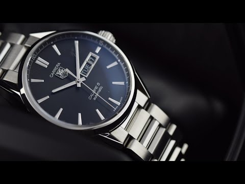Tag Heuer Carrera Caliber 5 Day Date (war201a.ba0723): Hands On Review And Unboxing.
