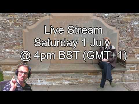 Live Stream Announcement 1 July 4pm