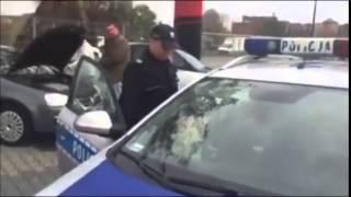 """""""Wypierdalaj za brame!"""" """"Wypierdalaj chamie!"""" Stanowcza rozmowa z policją. #Ner VOo"""