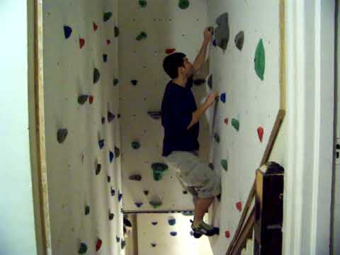 diy rock wall - Home Climbing Wall Designs