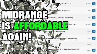 Midrange Gaming PCs are Definitely Affordable Again