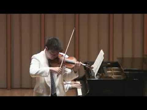 Ken Hamao plays Khachaturian (arr. Heifetz) Sabre Dance