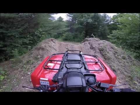 Solo ATV Ride Through The Bush!  (GoPro Cyclops Mount, 2015 Honda TRX420)