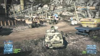Battlefield 3 Online Gameplay - JackFrags - Multiplayer #1 - Damavand Peak 1080p