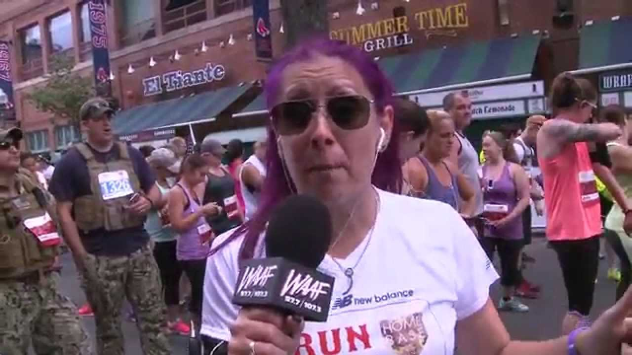 Mistress Carrie at the 2015 Run to Home Base - YouTube