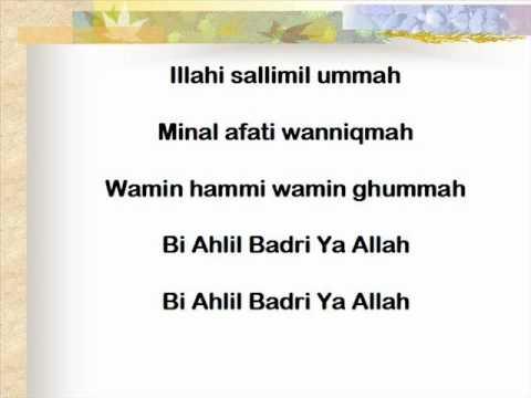 Shalawat Badar Ilir Ilir