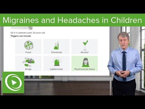 Migraines And Headaches In Children – Pediatrics   Lecturio