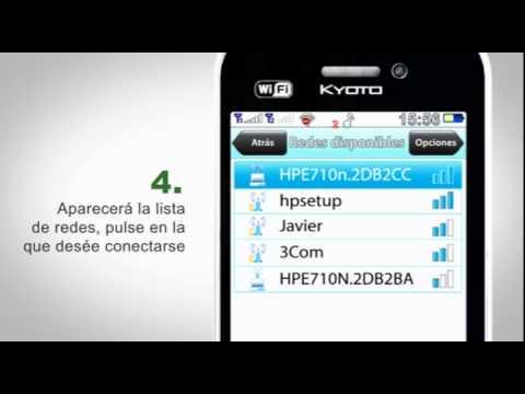 Kyoto T3 - Agregar redes WiFi
