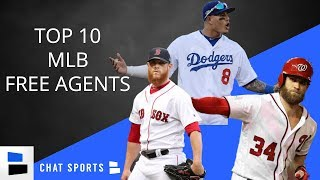 MLB Free Agency: Bryce Harper, Manny Machado, Craig Kimbrel - Predictions For 2019 Unsigned Players