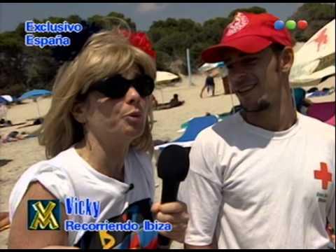 Mariana Briski es Vicky en Ibiza, playa nudista - Videomatch 98