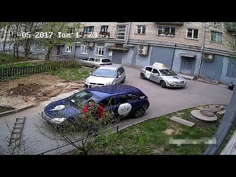 Яндекс такси - драка и...