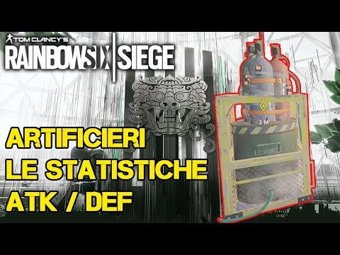 ARTIFICIERI: STATISTICHE ATK / DEF WHITE NOISE - RAINBOW SIX SIEGE