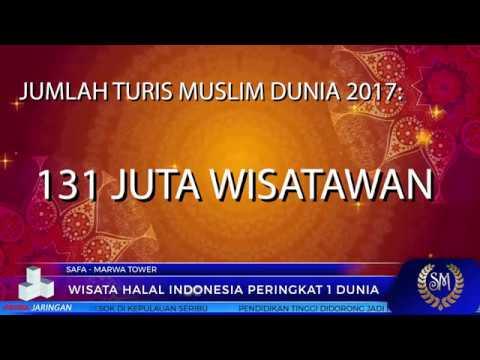 WISATA HALAL INDONESIA PERINGKAT 1 DUNIA