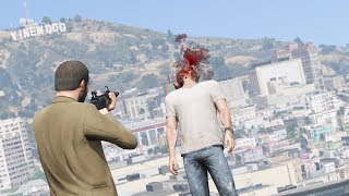 GTA 5 PC: REALISTIC DEATHS 60FPS (EUPHORIA RAGDOLL OVERHAUL) #31