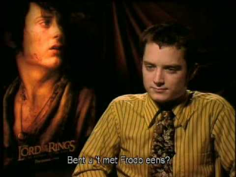 Lord Of The Rings - Special Interview Elijah Wood (Frodo) and Dominic Monaghan (Merry)
