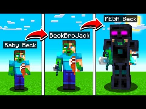LIFE OF BECKBROJACK IN MINECRAFT! thumbnail