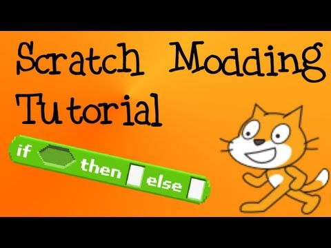 How To Make Custom Scratch Block (If{}then[]else[])