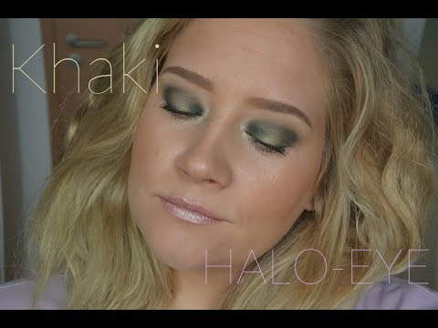 khaki green halo - HERBST LOOK // Nude by Nature REVIEW und KAT von D