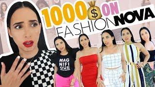 I SPENT $1,000 ON FASHION NOVA - IS IT WORTH IT!? | Mar