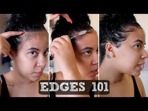 HOW TO LAY YOUR EDGES | QUICK & EASY TUTORIAL 💛
