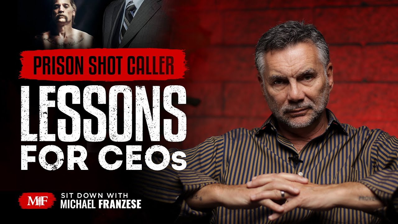 5 Leadership Lessons from Prison | Sit Down with Michael Franzese - Former Capo