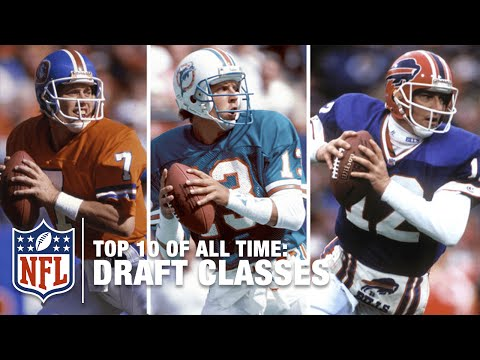 Top 10 Draft Classes of All Time | NFL