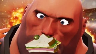 MAKE SANDVICH! | I Am Bread: Team Fortress 2