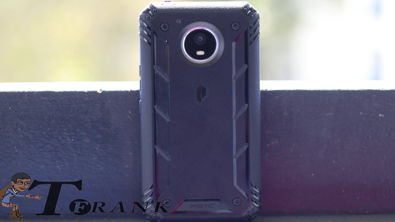 check out d0507 af2e5 Moto E4 Plus Poetic Revolution Case Review: Rugged Protection at an  Affordable Price