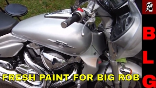 Download Suzuki M109 Bagger With A Custom Roagglide Fairing MP3, MKV
