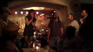 Felicia Boswell Jamming with Chaz Lamar Shepherd and friends live at the Sugarbar part 7