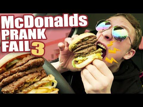 McDonalds PRANK FAIL - MEGA BURGER Roulette  - McDonalds Roulette