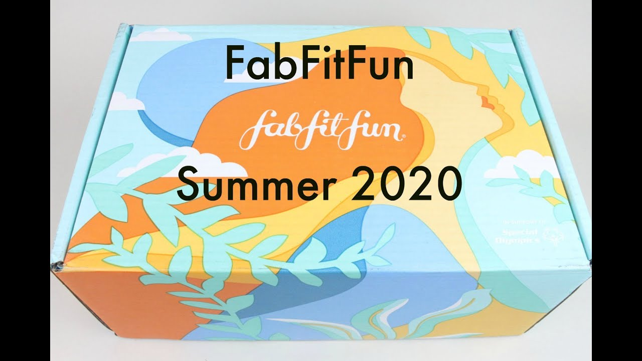 FabFitFun Summer 2020 Subscription Box Unboxing/Review + Coupon (Link to Fall Spoilers)