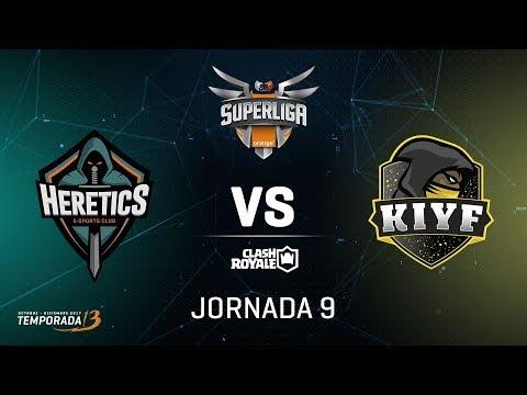 SUPERLIGA ORANGE - Team Heretics vs KIYF - Jornada 9 - #SuperligaOrangeCR9