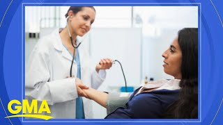 New study finds women's blood pressure rises higher and faster than men's l GMA