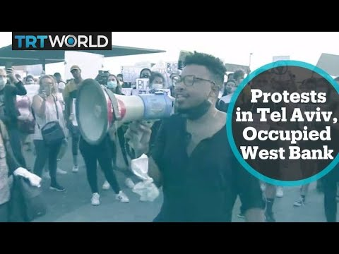 Solidarity protests held in Tel Aviv and occupied West Bank