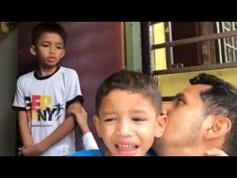 Sedih tengok!Dato Aliff Syukri hantar anak-anak tinggal rumah orang biasa belajar hidup susah