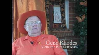 Gene the Pumpkin Man - Painting Kalamazoo Orange