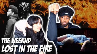 GESAFFELSTEIN & THE WEEKND - LOST IN THE FIRE | MUSIC VIDEO REACTION