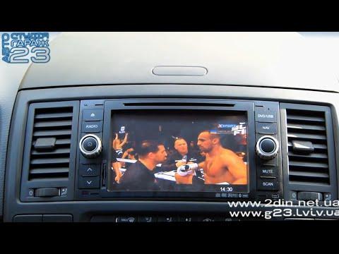 Автомобильный DVB T2 тюнер. Цифровое телевидение в автомобиле