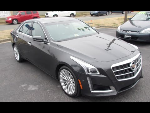 2014 cadillac cts 3.6 performance walkaround, start up, tour and