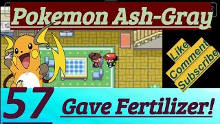 Pokemon Ash-Gray Part 57 PokeFan Gave Fertilizer To Mom At Pallet Town & Battle On Route 18