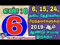நீங்க பிறந்த தேதி (6, 15, 24)ஆ! 2019-ஆம் ஆண்டு உங்களுக்கு இப்படித்தான் இருக்கும்.! Astrology