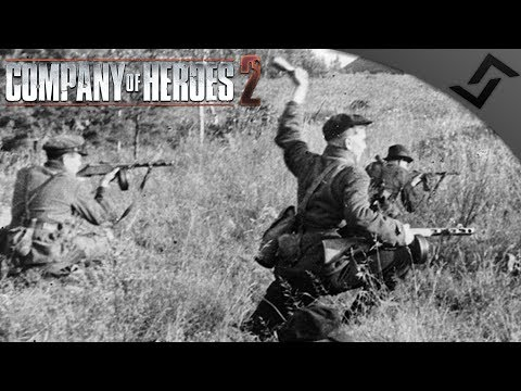 Partisans Outside of Moscow 1941 - Company of Heroes 2 - Theatre of War: Barbarossa COOP 10
