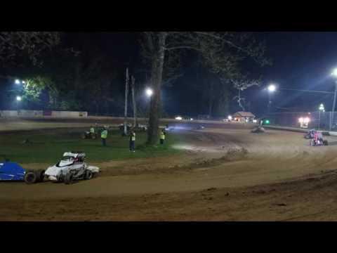 Mike Kalman - Shellhammers Speedway Heat 2 - 4/3/17