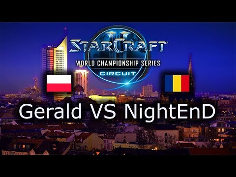 Gerald VS NightEnD - PvP - WCS Leipzig 2018 - Group Stage 1 - polski komentarz