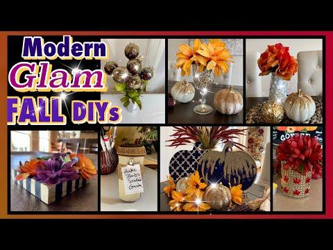 Glam Fall DIYs! | Dollar Tree Decor