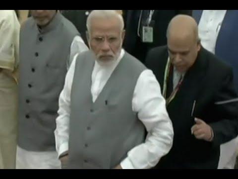 PM Narendra Modi reaches Delhi's IAR Institute too address 'Krishi Unnati Mela'